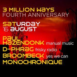 d-phrag - 3 Million Ways Anniversary 2014 Guest Mix