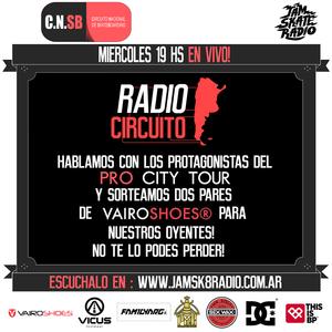 EZE LARROSA en RADIO CIRCUITO 1-4-2015