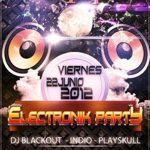 PLAYSKULL ELECTRONIK PARTY JUNE 2012 @ LENNON'S CLUB PART 1