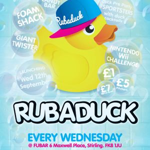 Rubaduck Live! DJ Kevin Howourth! 21/11/2012