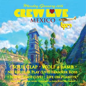 No Regular Play (Live)  - Live At Crew Love, Canibal Royal (The BPM Festival 2015, Mexico) - 12-Ja