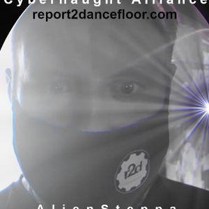 AlienSteppa - Time Machine (the mix) | Report2Dancefloor Radio