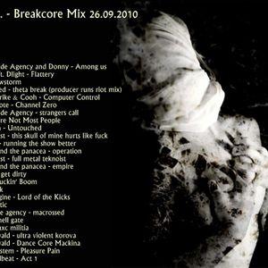 Agnes P. - Breakcore Mix 26.09.2010