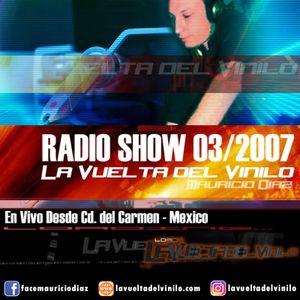 Mauricio Diaz - La Vuelta Del Vinilo 03/2007 (Cd. Del Carmen - Mexico)