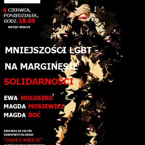 Trójmiasto: Tożsamości LGBT. Na marginesie solidarności