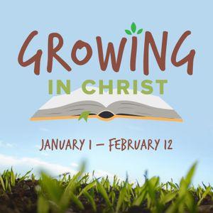 Yvonne Samia - Growing in Christ - Stewardship