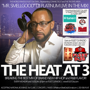 "NEW DJ PLATINUM MIX AVAILABLE [PUSH PLAY to LISTEN]: ""July 12, 2016 DJ PLATINUM live on THE #HeatAt3"