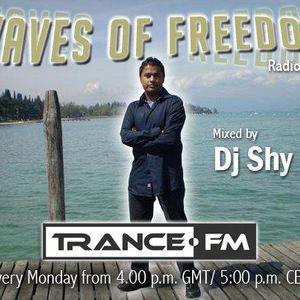 DJ Shy Presents Waves of Freedom 159 @ Trance.FM
