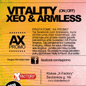 Armless , Xeo - AX PROMO - The Begining (September)