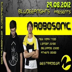 BluDeepNights on Westradio Vol.22 Zeljka Kasikovic and Robosonic