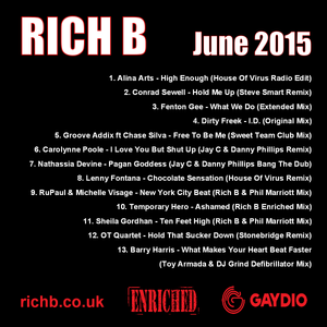 Rich B Enriched Podcast June 2015