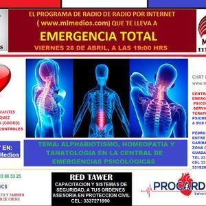 EMERGENCIA TOTAL   28ABR17