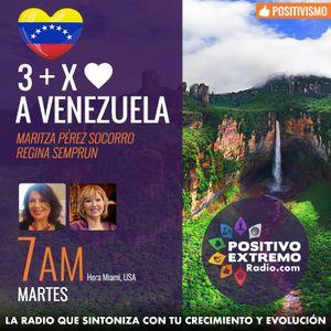 3 MAS POR AMOR A VENEZUELA  10-10-2017  MARITZA PEREZ Y REGINA SEMPRUN