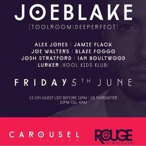 June 2015 Podcast: JOE BLAKE LIVE AT CAROUSEL - UK, 05/06/15