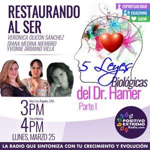 RESTAURANDO AL SER-03-25-19-5 LEYES BIOLOGICAS DEL DR. HAMER PARTE 1