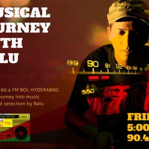 Musical Journey with Balu - Bol Hyderabad 90.4 FM