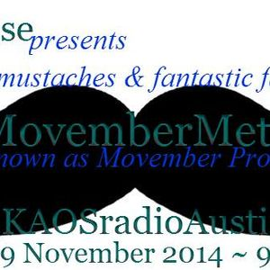 Movember Prostate Health 14 KAOS radio Austin Mosh Pit Hell Metal Punk Hardcore w doormouse dmf