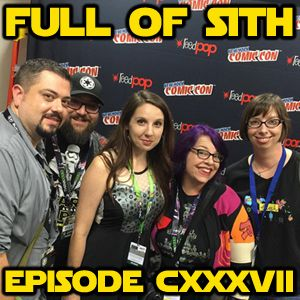 Episode CXXXVII: Of Rebels, Comics, Tickets, and Podcasting