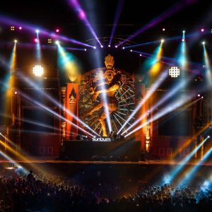 Indra J @ Sunburn Festival Goa 2014 // Space Jungle Stage