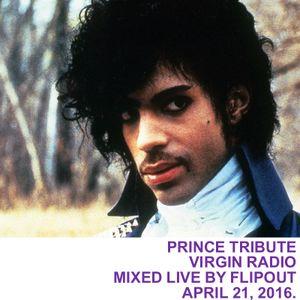 Flipout - Virgin Radio - Prince Tribute - April 21, 2016