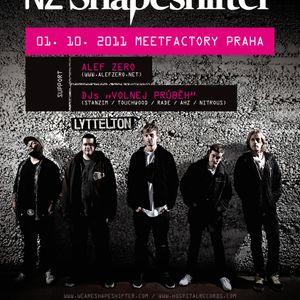 NZ SHAPESHIFTER_live show_Meet factory Prague_01102011