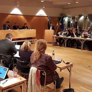 Oskarshamns kommunfullmäktiges budgetsammanträde (161121)