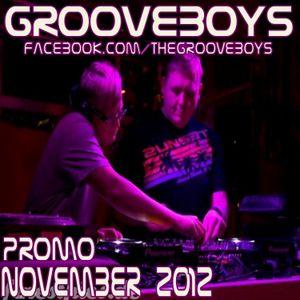 Grooveboys November 2012 Promo