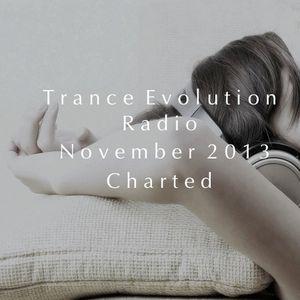 TRANCE EVOLUTION RADIO: EPISODE #23, NOVEMBER 2013 CHARTED