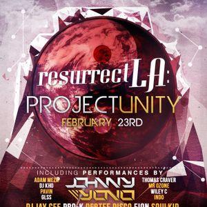 Resurrect LA- Unity- X3R0 Preview Mix