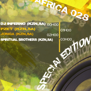 DJ Pzet - This is Africa 028 on Pure.FM (02-August-2014)
