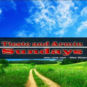 Tiesto and Armin Sundays (Live broadcast from Studio 1 on 6/16/13)