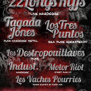 Punk à Mugron - 9 déc. Los Tres Puntos + 22 Longs Riffs + Tagada Jones + Les Destropouillaves + ...