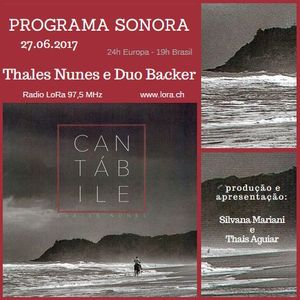 Sonora Thales Nunes e Duo Backer