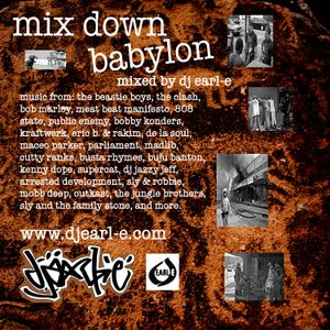 DJ Earl-E: Mix Down Babylon (all vinyl)