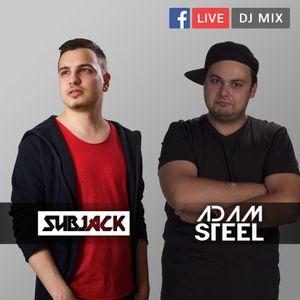 FB LIVE MIX - Adam Steel b2b Subjack - 2017.05.23 (Minimal)