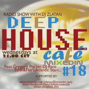 Deep House Café # 18