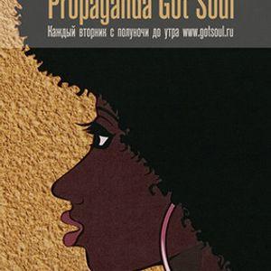 Live at Propaganda Got Soul party 17.08.10