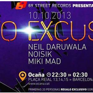 LIVE Oca;a BARCELONa-69 street records party.FUNK Disco house!