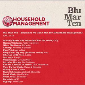 Blu Mar Ten - Household Management Mix - April 2010