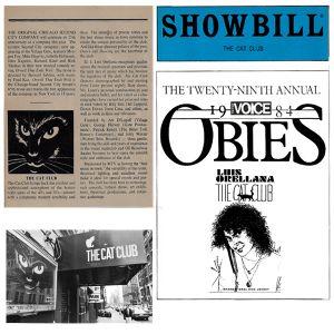 Luis Mario At The Cat Club 1984 Part 2 Showbill The 29th Annual