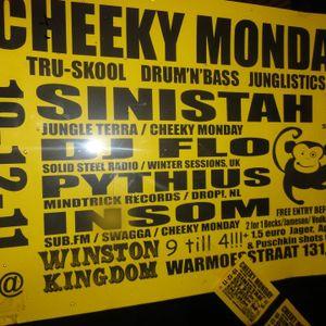 Cheeky Monday's, Amsterdam 19/12/2011 Dj Flo Drum and Bass set pt1