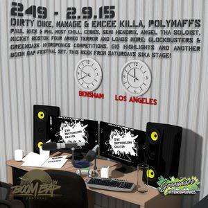 The Bottomless Crates Radio Show 249 - 2/9/15