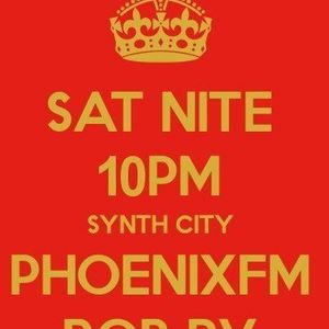 Synth City -'Radio show' (Phoenix 98 FM) with Rob Harvey