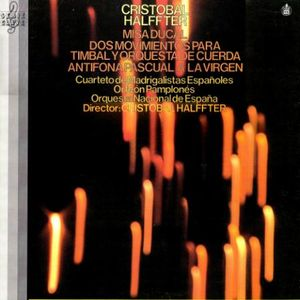 Cristóbal Halffter - Misa Ducal, for chorus and orchestra