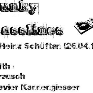 funky basslines mit b.rausch & Xavier Kannengiesser (26.04.12)