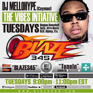 BLAZE 345 DJ MELLOHYPE THE VIBES INITIATIVE 12-15-15 2ND HALF