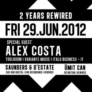 Alex Costa @ 2 yrs Rewired - Int. Tech-House Club