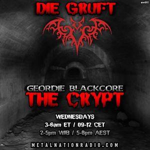 Geordie Blackcore's Crypt on 02 November 2016