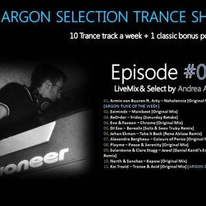 The Argon Selection Trance Show - EP.038
