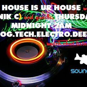 DJ Nik C - My House Is Ur House Ep 9 Prog/Electro House
